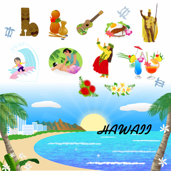 Hawaii material tourist attractions