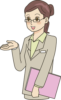 Guide office / lady