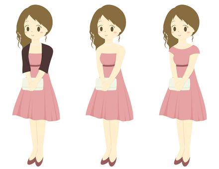 Formal girl _ pink