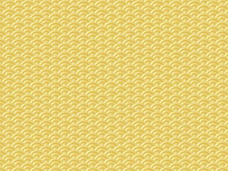 Qinghai wave (gold)