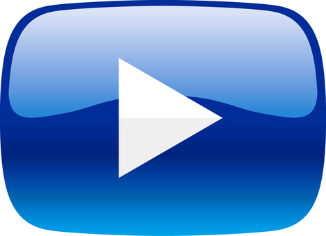Movie playback button _ 01 _ blue