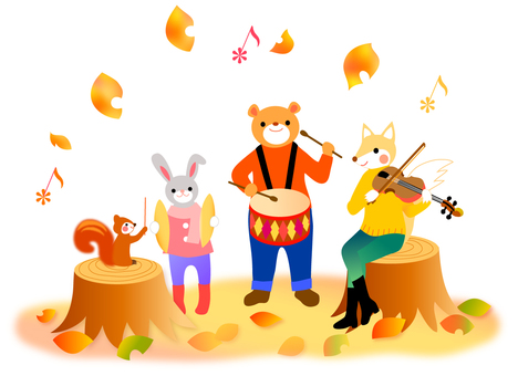Forest music concert