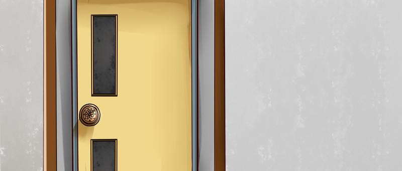 Easy background door