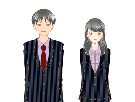Suit man and woman 2