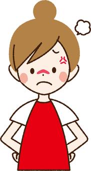 Angry woman _NA 18