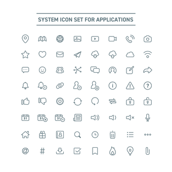 BASIC ICON SET