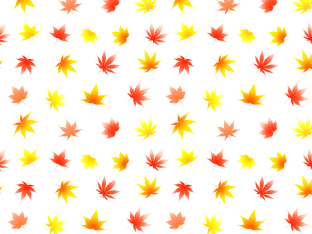 ai with autumn leaves pattern · swatch