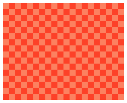 2 color check - gold red