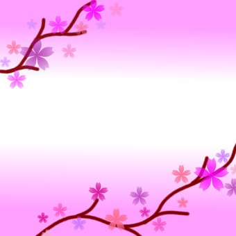 Dark pink cherry background