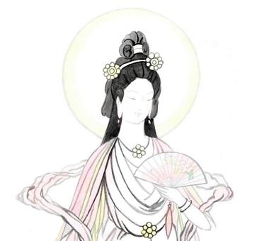 【Handwritten】 Konohana Last night the princess (upper body)