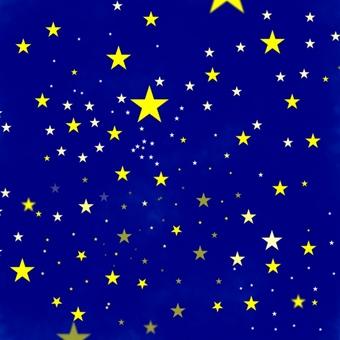 Simple starry sky