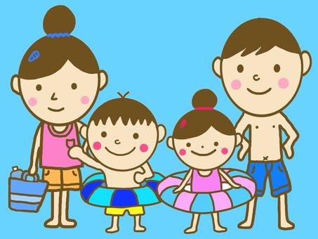 Family sea pool