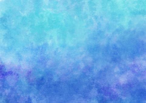 Blue watercolor wallpaper · A4 Novi