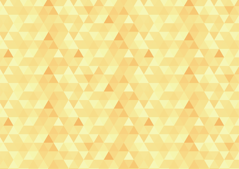 Geometric pattern Orange
