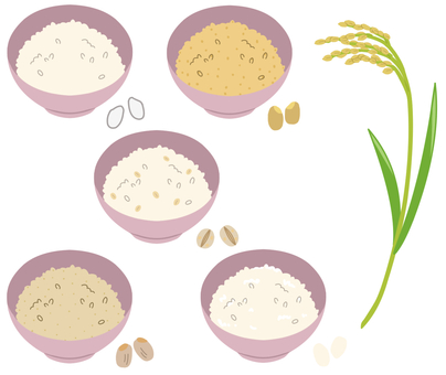 Cereals (rice, rice) * Borderless