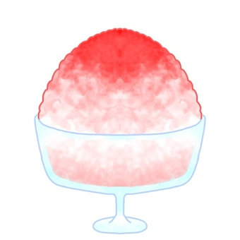 Oyster ice strawberry