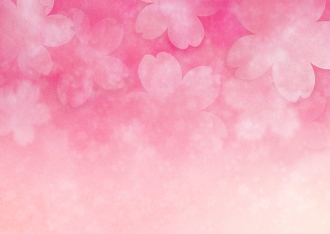 Cherry pink background material