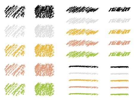 Crayon material