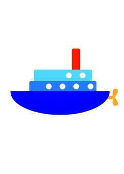 Ship (blue)