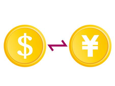 Money dollar yen