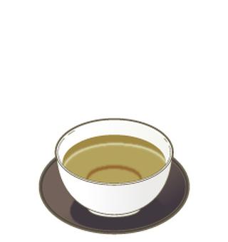 Hojicha _ Tea cup & Tea ceremony