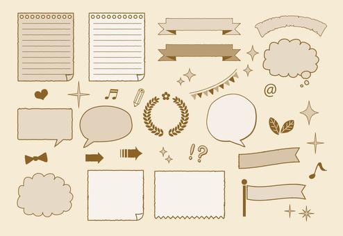 Drawing frame set (png background transparent) 2