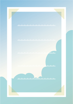 Cloud frame summer