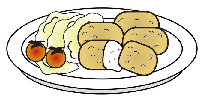 奶油炸肉餅