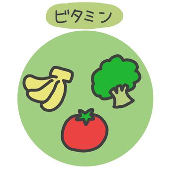Illustration of vitamin