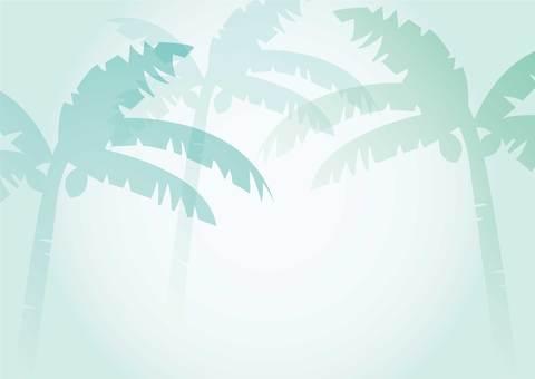 Palm - Blue
