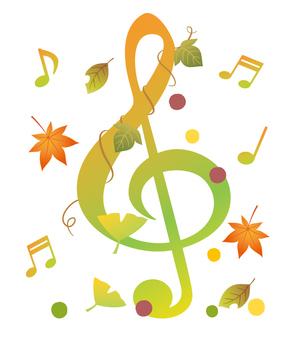 Tora sign · Autumn music