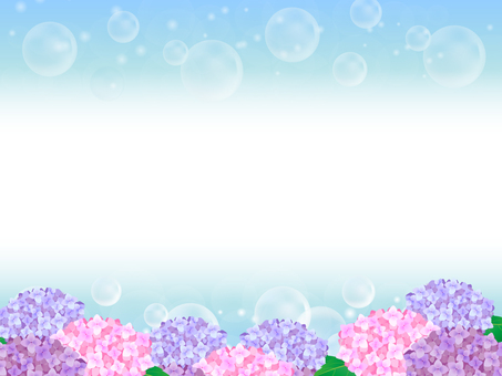 Hydrangea's background 4