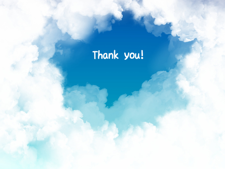 Cloud card (Thank you)