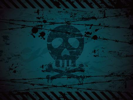 Skull background 02