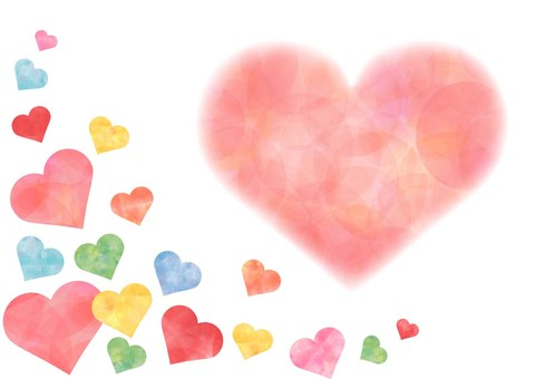 Heart _ Pastel background 1758
