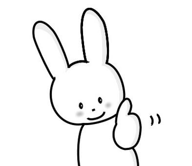 兔好良好黑白