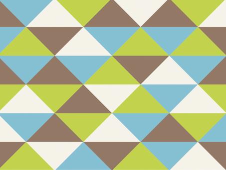 Texture triangular mosaic modern eco