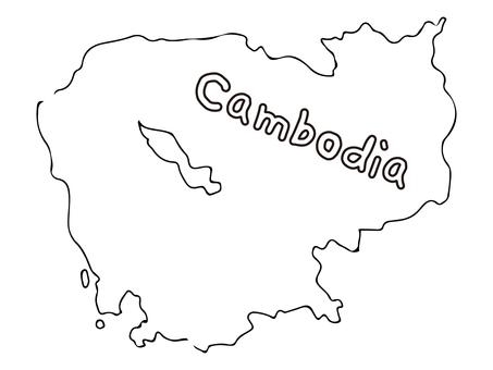Cambodia terrain