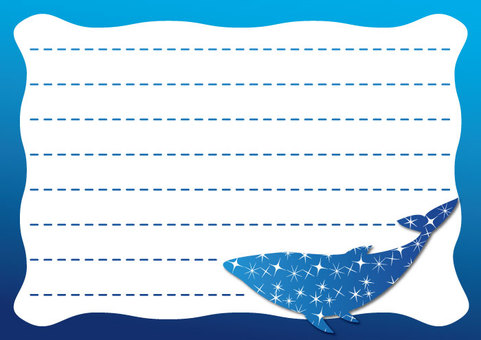 Whale Stationery 01