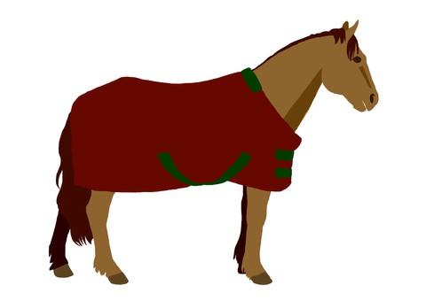 Horse arrival (brown hair)