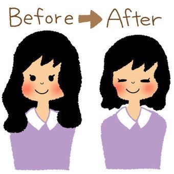 After beauty salon