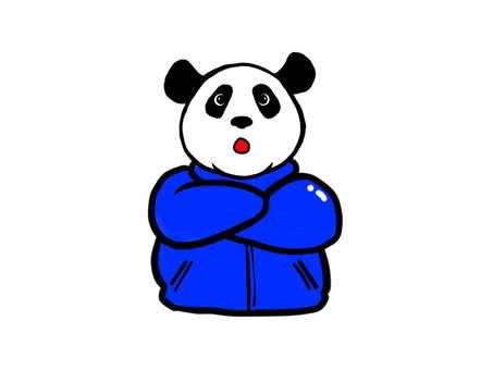 Panda surprised 2