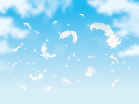 Glitter and feathers and clouds 06