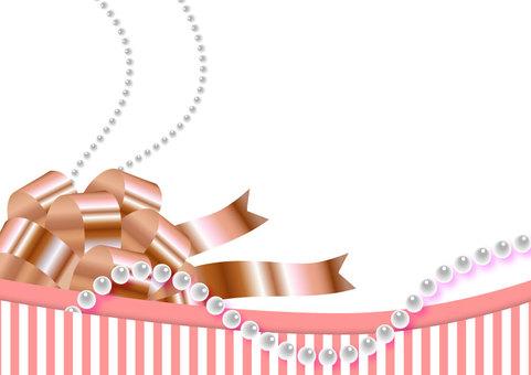 Valentine - Frame - Ribbon · Pearl
