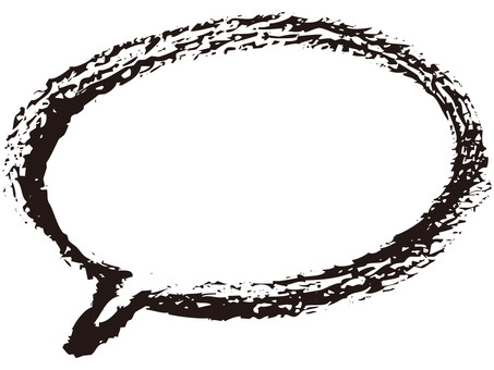 Balloon (ellipse / black)