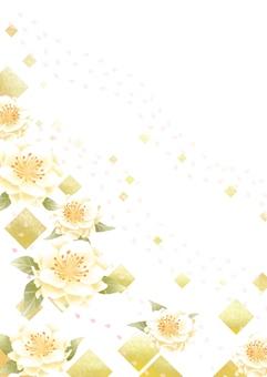 Cherry blossoms and gilt