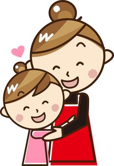 快樂的父母和孩子_ A 04