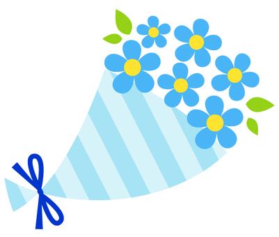 Bouquet (blue)