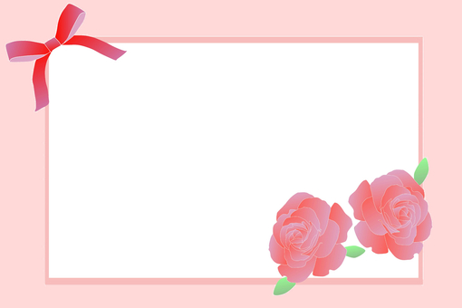 Message card · Rose (red)
