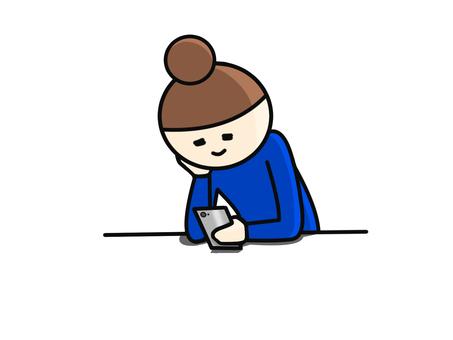 Sumaho書桌藍色